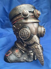 Steampunk Steam Doctor Bust Trinket Box Nemesis Now New Boxed Ornament Figurine