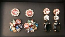 New$69.50 Multi Color 💕 Great Gift � J.Crew Bold Gems Earring Set! sold out!