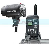 Godox E 250W Photography Studio Strobe Flash Head Light + FT-16 Wireless Trigger