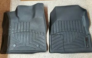 Weathertech Floor Mats First Row GMC Terrain Chevy Equinox 2 Pieces ~ 442711