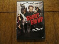 Shoot 'Em Up - Clive Owen, Monica Bellucci, Paul Giamatti 2007 DVD LIKE NEW!!!