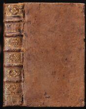 La SAINTE BIBLE par Mr De SACY Les Quatre Livres des ROIS La Haye 1722 T.3 RARE