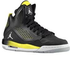 air jordan sc-3 Flight Black Yellow Basketball Boys Shoes 5.5 Eu 38