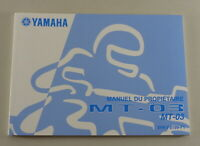 Owners Guide Proprietaire Yamaha MT-03 From 09/2006