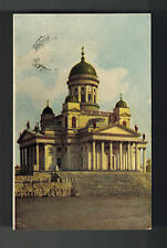 1910 Helsinki Finland Russia Picture Postcard Cover to Wasa Church Building