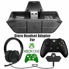 Stereo 3.5mm Headset Adapter Headphone Converter for Xbox One Game Controller Go