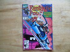 1990 VINTAGE FANTASTIC FOUR # 341 SIGNED BY WALT SIMONSON THOR & IRON MAN  POA