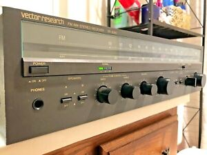 Vector Research VR-2000 Analog AM/FM Home Stereo Receiver - Clean Condition!