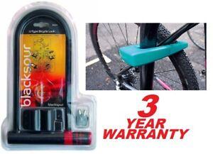 BLACKSPUR D/U Shaped Bike Lock Cycle. Bicycle. Motorbike, Scooter & Bmx Security
