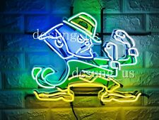 "New Notre Dame Fighting Irish Neon Light Sign 20""x16"" Hd Vivid Printing"
