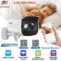 1080P HD WiFi Security Wireless Camera Outdoor CCTV Waterproof IR Cam Smart Home