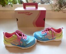 Little Girl's Saucony Sneakers Size 12 W Wide Width Box Included Leather Uppers
