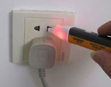 hot New Useful Yellow 1AC-D LED Power Alert Pen Non-Contact Test Pencil Sensor