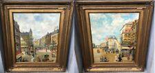 Gorgeous, Henri Alphonse Barnoin (1882-1940) French painter - Pair of oils on ca