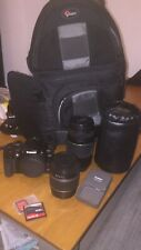 Canon Rebel XTi DSLR + EF-S 18-55mm f/3.5-5.6 Lens + CANON EF 75-300 mm f/4.0-5.