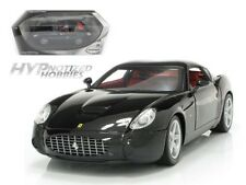 HOT WHEELS 1:18 FERRARI 575 GTZ ZAGATO DIE-CAST BLACK P9888