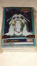 Digimon Karten Japan Holo Bandai 1999  aus einem Geschäfts Nachlass