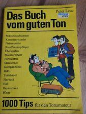 Peter Leue Das Buch vom guten Ton DDR 1989
