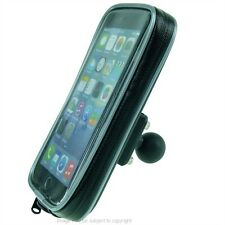 "Waterproof Case with 1"" Ball for RAM Motorcycle Mounts for iPhone 6 Plus 5.5"