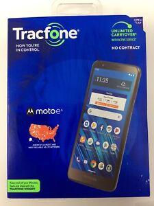 """Tracfone Moto e6 4G LTE 5.5"""" 16GB Prepaid Smartphone Brand New Open Box"""