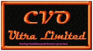 CVO  ULTRA LIMITED   BIKER PATCH
