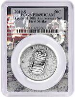 2019 S Apollo 11 50th Anniversary Set Clad Half Dollar PCGS PR69 First Strike