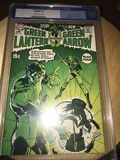 Green Lantern 76 CGC 9.0 OW/W Denny O'Neil Neal Adams w Green Arrow - old label