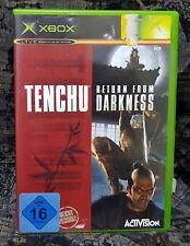 XBOX Spiel Tenchu Return From Darkness + Anleitung guter Zustand + OVP
