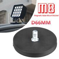Magnetic Base Sucker Mount Bracket LED Work Light Bar Holder SUV ATV 4X4 4WD #