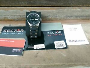 SECTOR 700 Series Watch Swiss ETA 2824-2 Auto Date 200m 660ft Stainless Sapphire