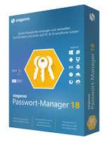 Passwort Manager 18 Steganos f. 5 PC / Smartphone ESD/Download EAN 4023126118875