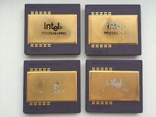 Intel Pentium PRO 200MHz 512K SY048, KB80521EX200, Vintage CPU, GOLD