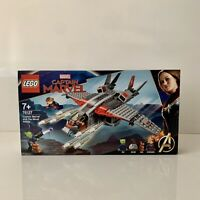 Lego Marvel Super Heroes Captain Marvel and The Skrull Attack (76127) - New