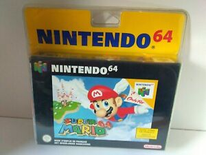 Nintendo 64 Mario 64 blister rigide