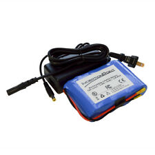 12V LiFePO4 3.3Ah FLAT 4s1p (26650 cell x 4) Battery Pack w/ PCB and charger