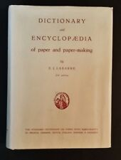 E J Labarre - Dictionary & Encyclopaedia Of Paper & Paper-Making - hbdj