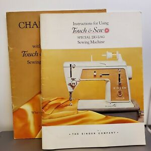 Instruction Book Touch & Sew Sewing Machine & Chainstitching