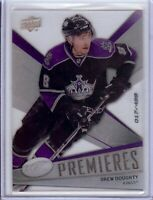 Drew Doughty 2008-09 Upper Deck ICE Premieres RC Rookie Card Kings #152 017/499