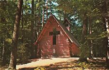 Postcard Chapel in the Pines Hartwick Pines State Park Grayling Michigan