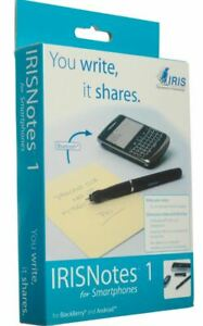 Brand New IRISNotes 1 for Smartphones Digital Pen Bluetooth For Smartphones