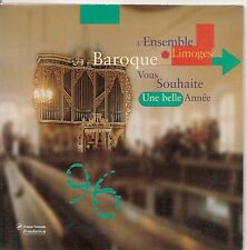 CD SINGLE 4 TITRES--ENSEMBLE DE LIMOGES BAROQUE--BACH-CANTATE DU NOUVEL AN