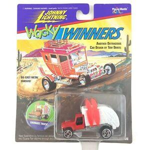 Johnny Lightning Wacky Winners Tom Daniel Garbage Truck Surfboards Die Cast 1/64