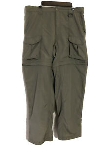 Columbia Detachable Legs Fishing Pants Shorts Mens (M)