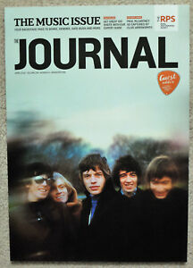 RPS Journal Magazine APR 2016 Royal Photographic Society ROLLING STONES / BOWIE