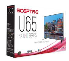 """NEW Sceptre 65"""" Class 4K Ultra HD 2160P LED TV Slim Flat Screen 4 HDMI 4K x 2K"""