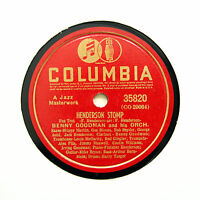 "BENNY GOODMAN & HIS ORCHESTRA ""Henderson Stomp"" COLUMBIA 35820 [78 RPM]"