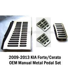 2009-2013 KIA Forte Cerato OEM Manual Footrest Clutch Brake Accel Pad Pedal