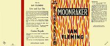 Fleming-Facsimile Dust Jacket for 1st UK edition of MOONRAKER