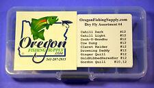 Kit #4, Trout Premium Dry Fly Assortment #4.     Twenty Dry Flies total