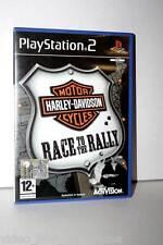 HARLEY DAVIDSON RACE TO THE RALLY GIOCO USATO OTTIMO STATO PS2 ED. ITA FR1 32382